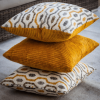 3 piece amber scatter cushion set